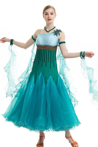 competition ballroom dress