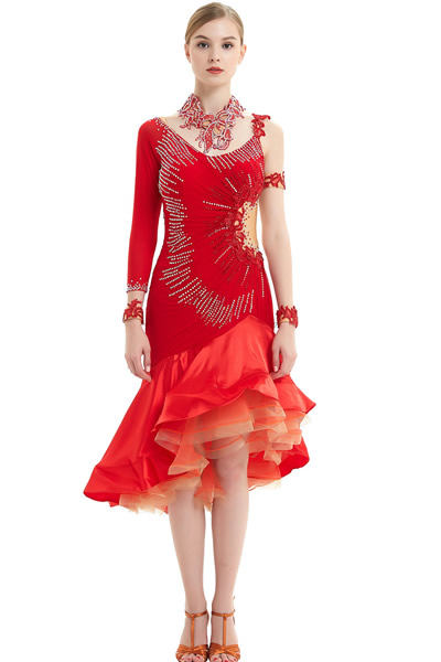 latin dance dresses
